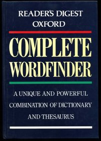 Oxford Complete Wordfinder