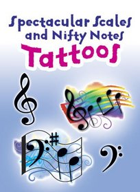 Spectacular Scales and Nifty Notes Tattoos (English and English Edition)