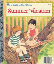 Summer vacation (A Little golden book)