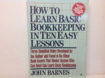 How to Learn Basic Bookkeeping in Ten Easy Lessons