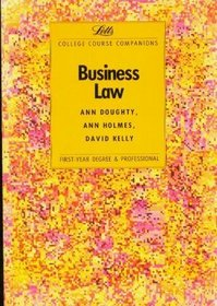 Business Law: College Course Companion (Letts Study Aid)