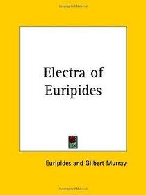 Electra of Euripides