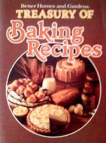 Better Homes & Gardens Treasury of Baking Recipes