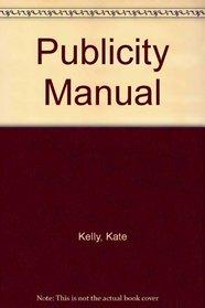Publicity Manual