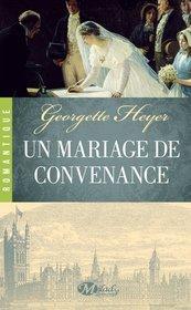 Un mariage de convenance (The Convenient Marriage) (French Edition)
