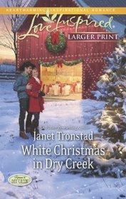 White Christmas in Dry Creek (Return to Dry Creek, Bk 5) (Love Inspired, No 806) (Larger Print)