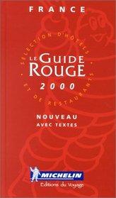 Michelin Guide France 2000