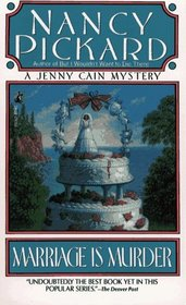 Marriage is Murder (Jenny Cain, Bk 4) (Large Print)