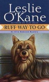 Ruff Way to Go (Allie Babcock, Bk 2)