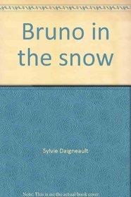Bruno in the snow