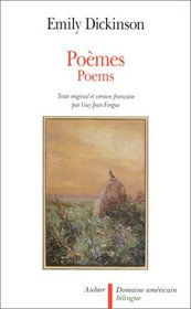 Poemes : bilingual edition in French and English