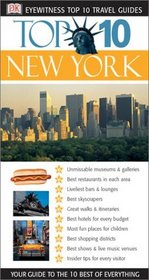 Eyewitness Top 10 Travel Guides: New York (Eyewitness Travel Top 10)