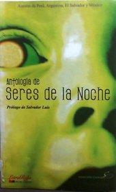 Antología de Seres de la Noche (Spanish Edition)