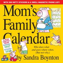 Mom's Family Calendar 2008