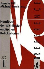 Handbuch der wichtigsten englischen Kollokationen.