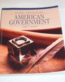 American Government Brief Version Special 7th Edition