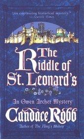 The Riddle of St. Leonard's (Owen Archer, Bk 5)