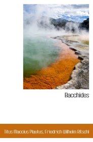 Bacchides (Latin Edition)