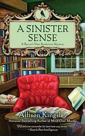 A Sinister Sense (Raven's Nest Bookstore, Bk 2)
