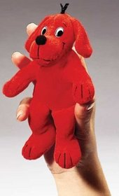 Clifford The Big Red Dog Finger Pup Pet