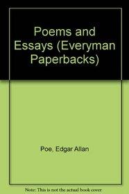 Poe: Poems and Essays (Everyman Paperbacks)