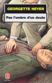 Pas l'ombre d'un doute (No Wind of Blame) (Inspector Hemingway, Bk 1) (French Edition)