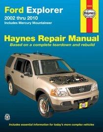 Ford Explorer 2002 thru 2010: Includes Mercury Mountineer (Haynes Repair Manual)