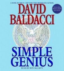Simple Genius (King and Maxwell, Bk 3) (Audio CD) (Abridged)