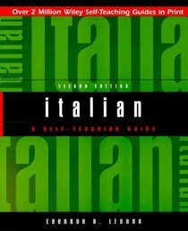 Italian: A Self-Teaching Guide, 2nd Edition
