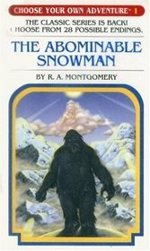 The Abominable Snowman (Choose Your Own Adventure, No. 1)