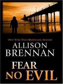 Fear No Evil (No Evil, Bk 3)