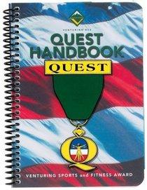 Quest Handbook Quest (Venturing Sports and Fitness Award)