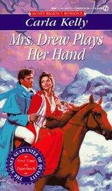 Mrs. Drew Plays Her Hand (Signet Regency Romance)