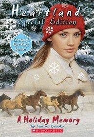 A Holiday Memory (Heartland Special Edition)