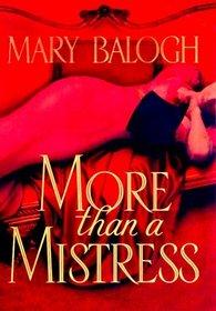 More than a Mistress (Mistress Trilogy, Bk 1)