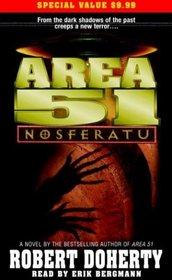 Area 51: Nosferatu (Audio Cassette) (Abridged)