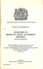 Increases in rents of local authority housing (Cmnd. 3604-1)