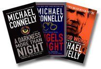 Michael Connelly's Police Thriller Three-Book Set [A Darkness More than Night, Angels Flight, Blood Work]