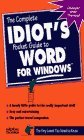 The Complete Idiot's Pocket Guide to Word for Windows