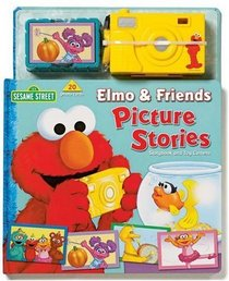 Sesame Street Elmo & Friends Picture Stories Storybook and Toy Camera