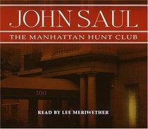 The Manhattan Hunt Club (Audio CD) (Abridged)