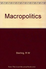 Macropolitics; international relations in a global society