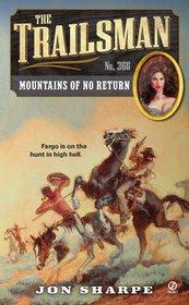 Mountains of No Return (Trailsman, No 366)