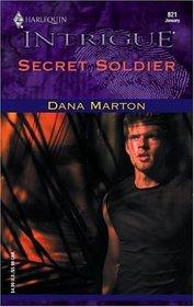 Secret Soldier (SDDU, Bk 2) (Harlequin Intrigue, No 821)
