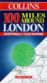 Collins 100 Miles Around London (Collins British Isles and Ireland Maps)