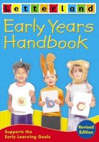 Early Years Handbook (Letterland)