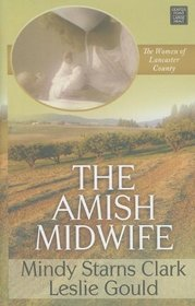 The Amish Midwife (Women of Lancaster County, Bk 1) (Large Print)