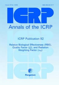 ICRP Publication 92: Relative Biological Effectiveness (RBE), Quality Factor (Q), and Radiation Weighting Factor (wR) (International Commission on Radiological Protection)