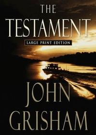 The Testament (Large Print)