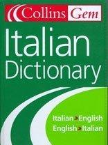 Collins Gem Italian Dictionary, 5e (Collins Gem)